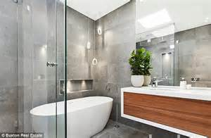 Glass Block Designs For Bathrooms the block s alisa and lysandra fraser lend designer touch