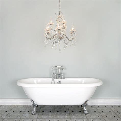 chandelier in the bathroom vara 9 light bathroom chandelier chrome
