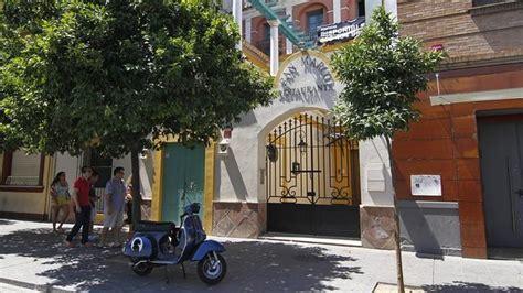 restaurante san marcos sevilla calle cuna la casa palacio del san marco en la calle betis a la