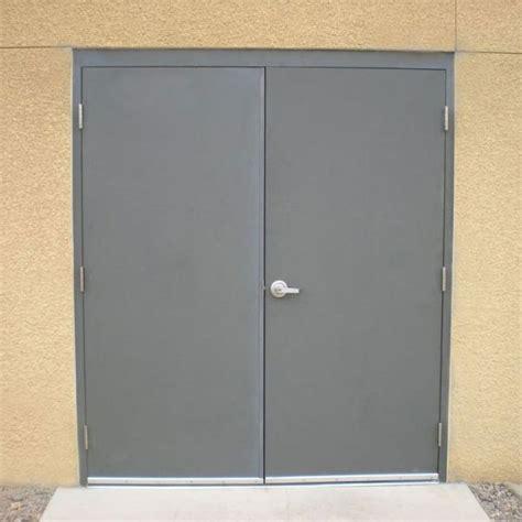 exterior metal doors commercial steel doors hollow metal door pair
