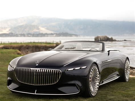 Price Of A Maybach by Mercedes Maybach Volkswagen Rimac At The 2017 Pebble