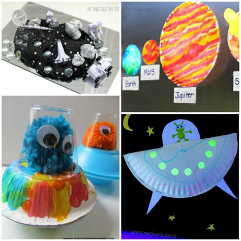 space craft ideas for astronaut crafts