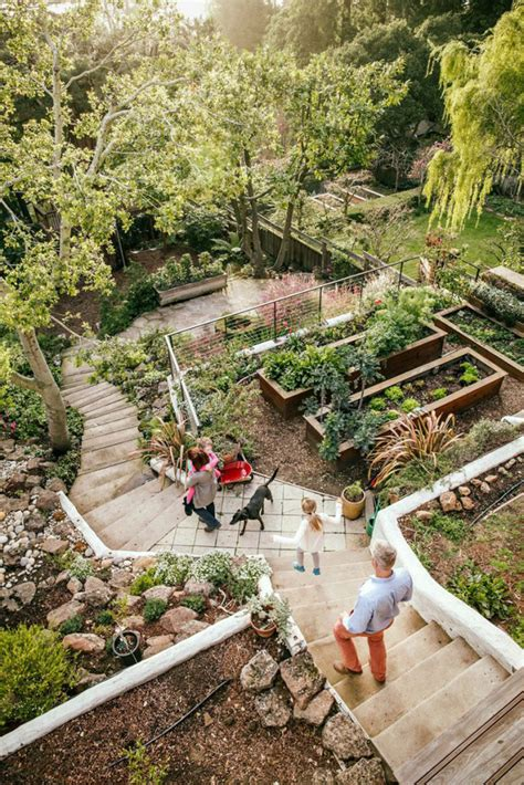 renovate backyard clever ideas for a sloping backyard renovate real estate