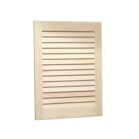 unfinished cabinet doors home depot louvered 16 in w x 22 in h x 4 5 in d recessed medicine