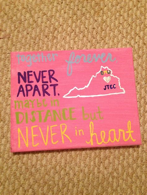 best friend crafts for the canvas i made my best friend before i left for college
