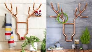copper decorations copper reindeer decoration
