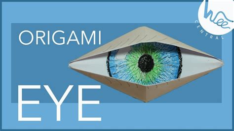 eye origami paper origami eye my crafts and diy projects