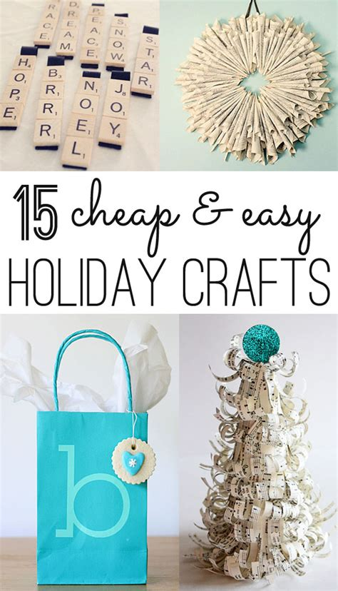 cheap crafts for crafts 12 cheap and easy ideas