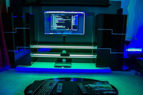 bedroom gaming room setup ideas home decor ideas