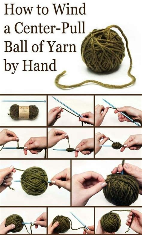 how to tie a knot for knitting center pull of yarn knitting my stresses away