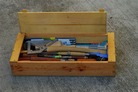 woodworking tool box wood tool box plans free