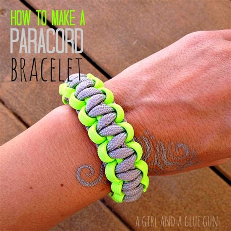 how to make paracord jewelry how to make paracord bracelets a and a glue gun