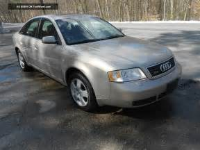 2001 Audi A6 by 2001 Audi A6 2 7 Bi Turbo Quattro