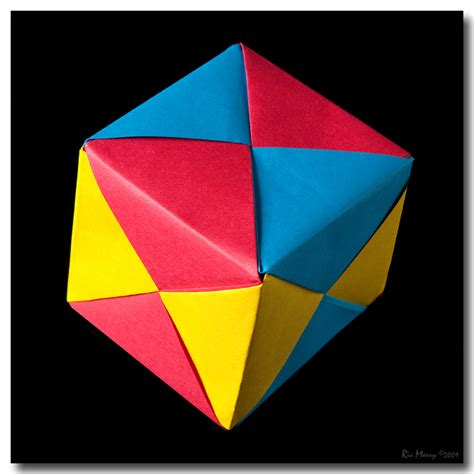Modular Origami Cube By Ricmerry On Deviantart