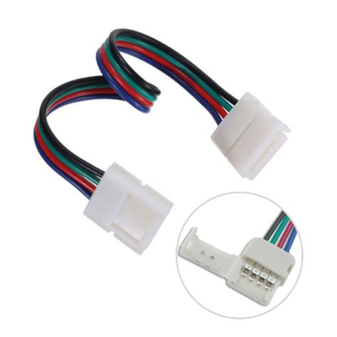 how to led light strips 4pin rgb led lights fast conector to 4pin rgb led