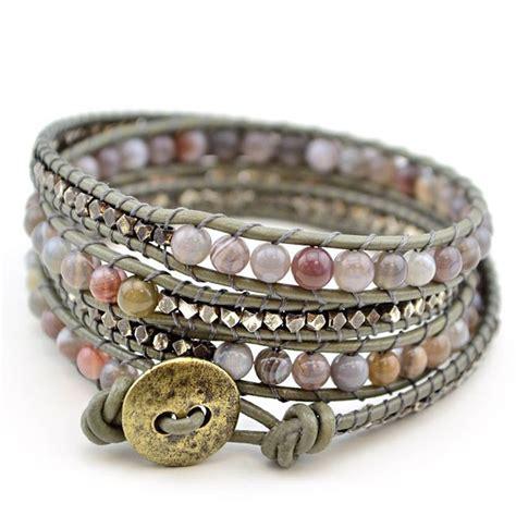 how to make a beaded wrap bracelet 17 best ideas about beaded wrap bracelets on