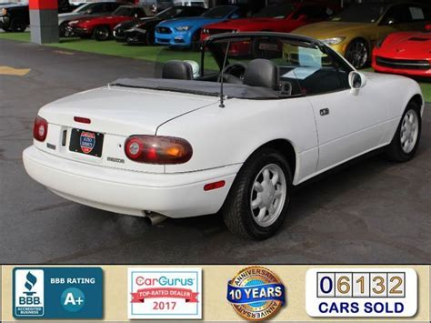 vehicle repair manual 1993 mazda mx 5 parking system 1993 mazda mx 5 miata roadster 5sp manual crystal white convertible 4 manual