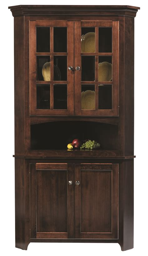 corner kitchen hutch furniture 30 shaker corner hutch norman s handcrafted furniture some things are made the