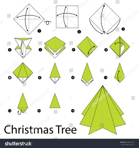 origami tree step by step step by step how to make origami