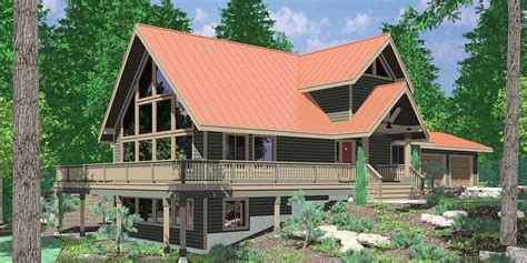 a frame house plans with basement a frame house plans with steep rooflines