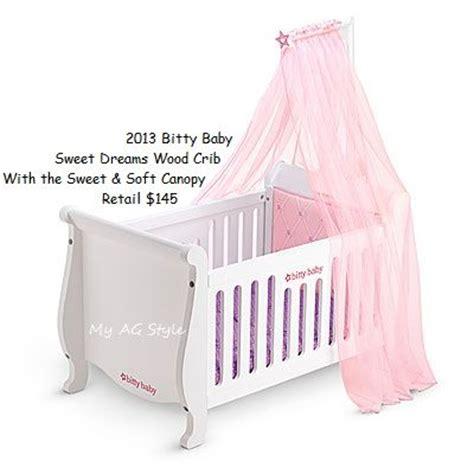 bitty baby crib american doll bitty baby canopy crib bitty baby