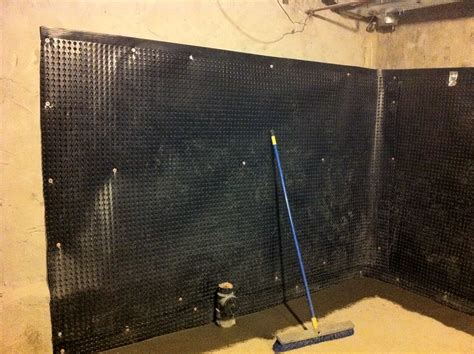 interior basement waterproofing membrane basement wall awesome innovative home design