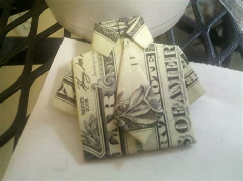origami dollar bill shirt with tie dollar bill tie shirt origami crafts