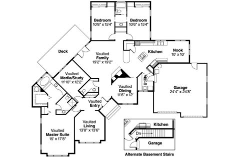 ranch home floor plans ranch house plans camrose 10 007 associated designs