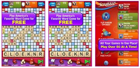 scrabble for android free scrabble free for android allows play versus iphone