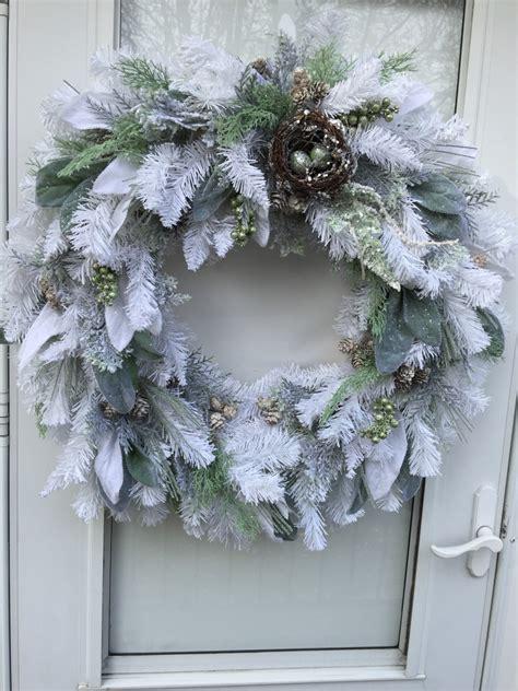 flocked wreath my