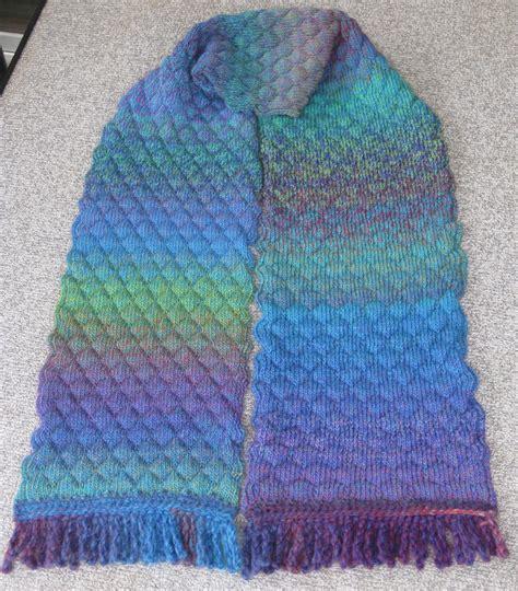 knitting patterns for knitting machines machine knitting machine knit tuck scarf