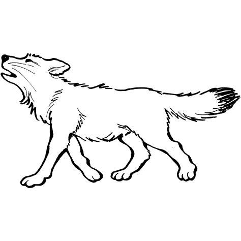 desenho de lobos desenho de lobo uivando para colorir tudodesenhos