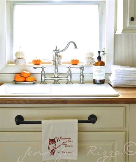 kitchen towel rack sink kitchen sink with a towel holder for the home