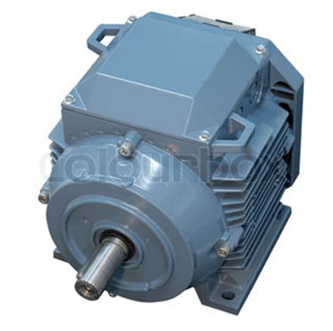Big Electric Motor by Big Electric Motor For Conditioner Fan Isolated Stock