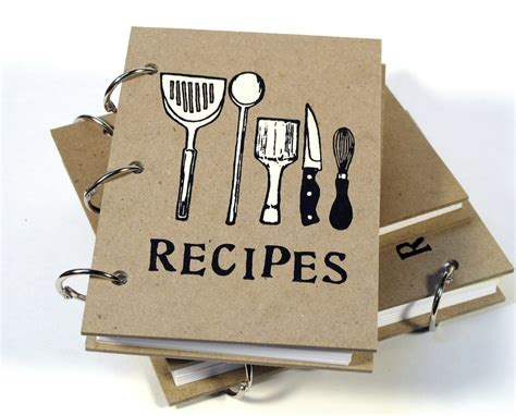 Blank Recipe Book 4in X 6in By Bethbee On Etsy