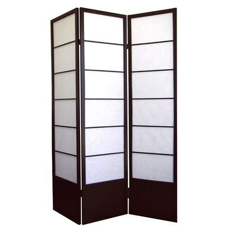 room divider panels home decorators collection 5 83 ft black 3 panel room