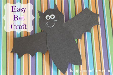 bat craft for easy bat craft happy home