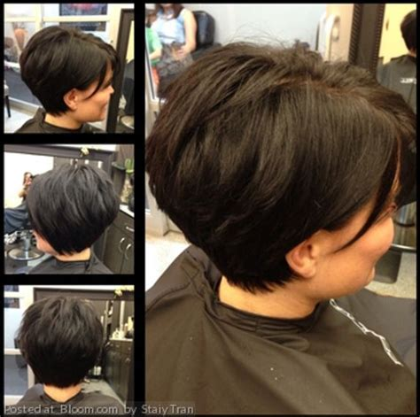 wedge haircuts for thick hair modified wedge haircut short hairstyle 2013