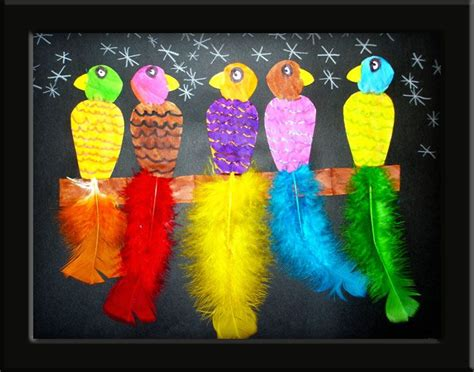 bird craft projects birds of a feather animals birds and sealife crafts