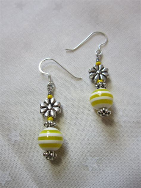 handmade beaded earrings handmade earrings beaded earrings dangling earrings