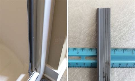 glass shower door hinge gasket glass shower door hinge gasket how to install your