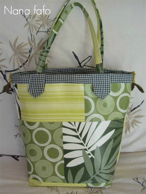 sac pratique en toile cir 233 e couture nana fafo crochet et accompagnement cr 233 atif