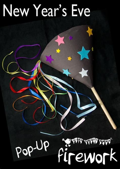 happy new year crafts for pop up firework craft a great new year s craft for