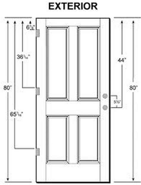 door sizes exterior exterior door sizes what is the standard door size for