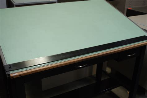 drafting table with edge stacor drafting table parts