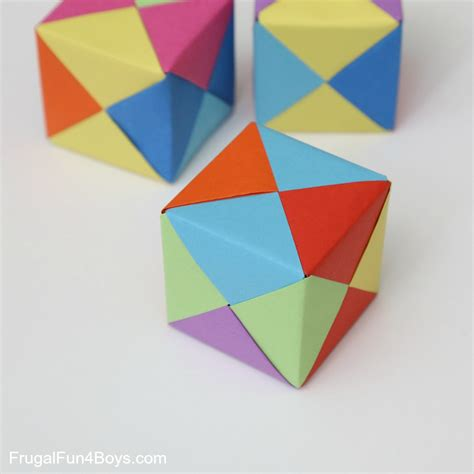paper cubes origami how to fold origami paper cubes