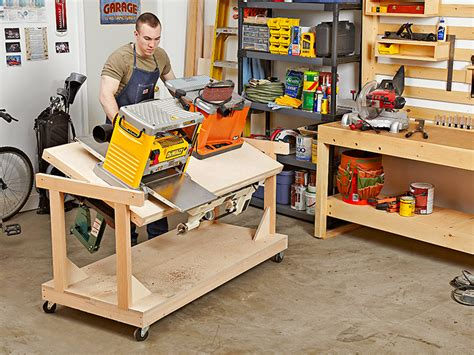 woodworking shop design software flip top bench woodworking plan for the space starved