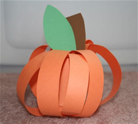 paper pumpkin craft diy home sweet home fall crafts for