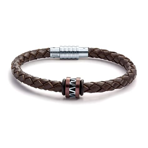 leather jewelry aagaard mens jewelry leather bracelet no 1244 landing