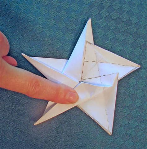 origami five point five pointed origami paper crafts scrapbooking